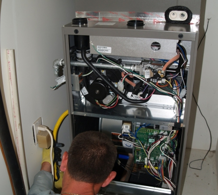 How to Deal with a Gas Furnace that Produces No Heat