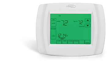Lennox Comfortsense 5000 Series Touchscreen Thermostat