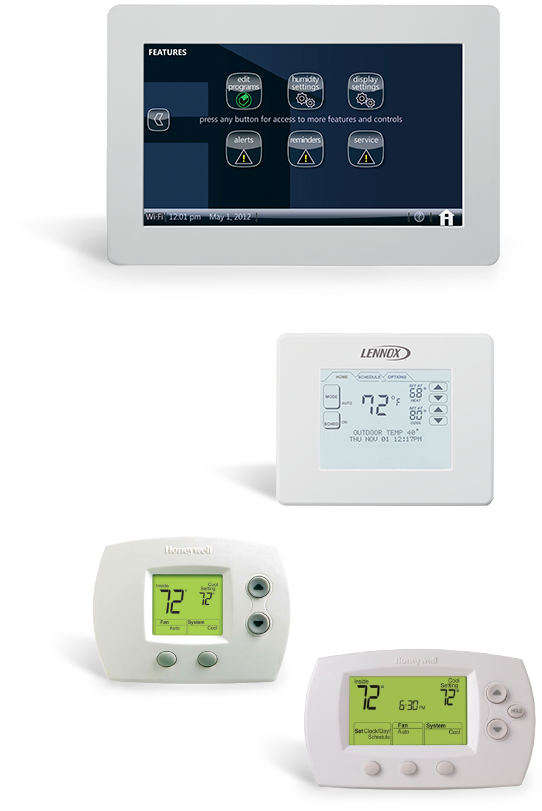 Thermostat Service Heating Los Angeles & San Fernando Valley - Repair Service & Installation Equipment 1